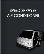 speed sprayer air conditioner